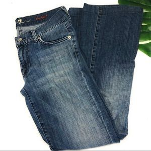 7 for all mankind bootcut jeans 🍃